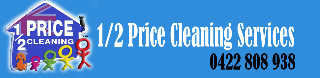 half price cleaning